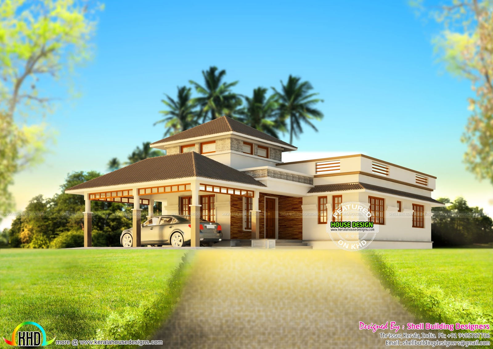 House design hilly area - House Design For Hill Area
