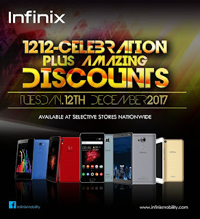 Infinix 1212 Celebration: It's all about discounts, free tickets to Davido's 30 Billion Concert, Infinix Fans party