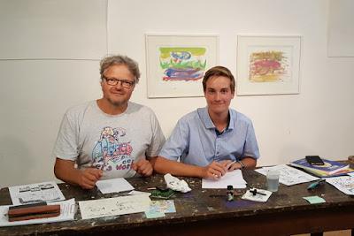 Comickurs in der Kunstwerkstatt Gmünd in Kärnten