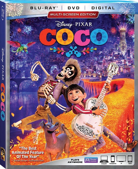Coco (2017) m1080p BDRip 9.4GB mkv Dual Audio DTS 5.1 ch