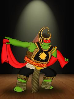 Kartun Wayang Ninja Turtle