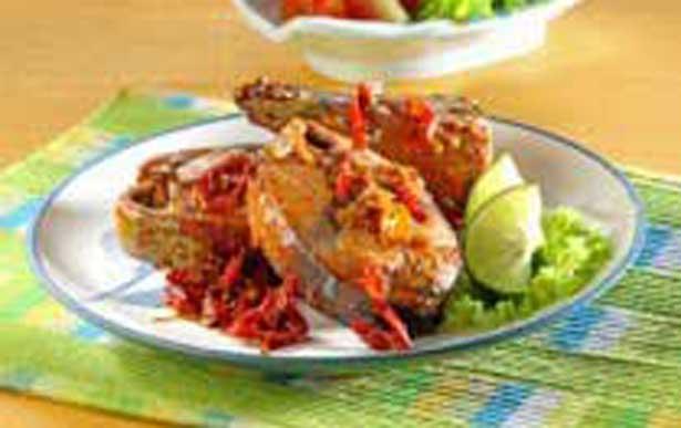 Resep Masakan Ikan Tongkol Bumbu Bakar Cetar