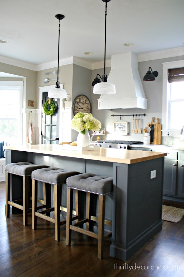 Extending kitchen island DIY