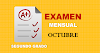 Examen Mensual de Segundo Grado | Octubre