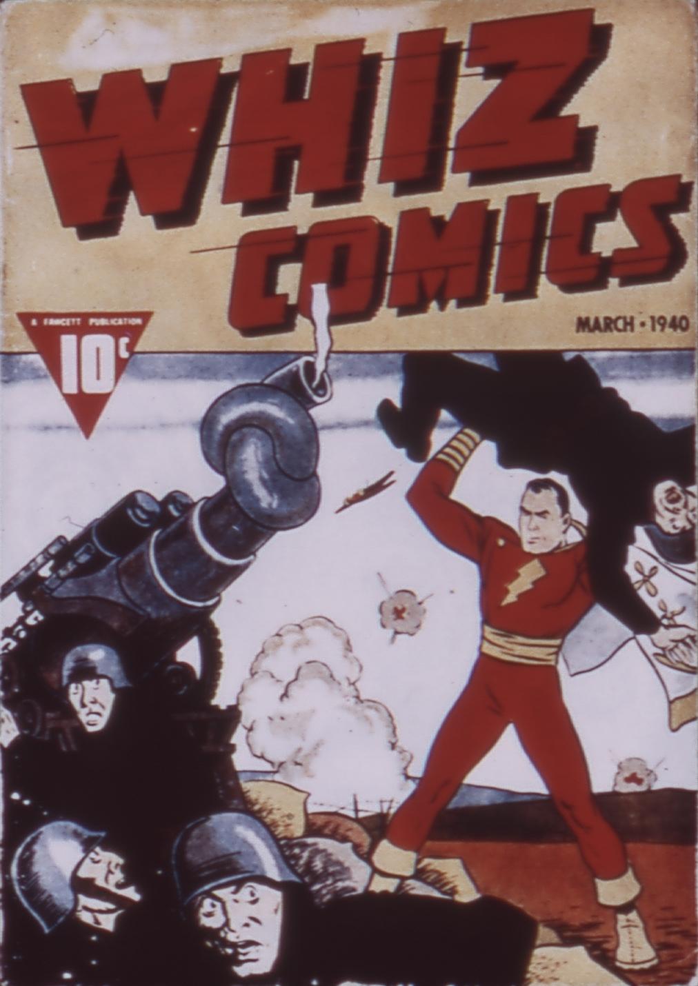 Read online WHIZ Comics comic -  Issue #3 - 1