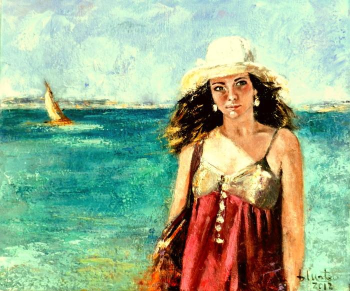 Современная испанская художница. Basi Mateo 5