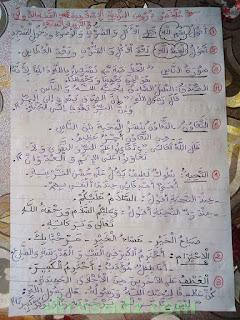 دروس التربية الاسلامية للسنة الاولى ابتدائي