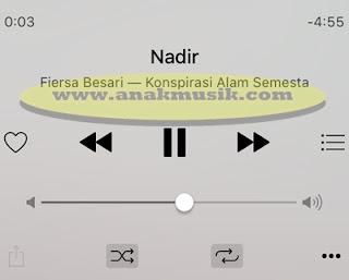 Lirik Lagu & Kunci Gitar Fiersa Besari - Nadir