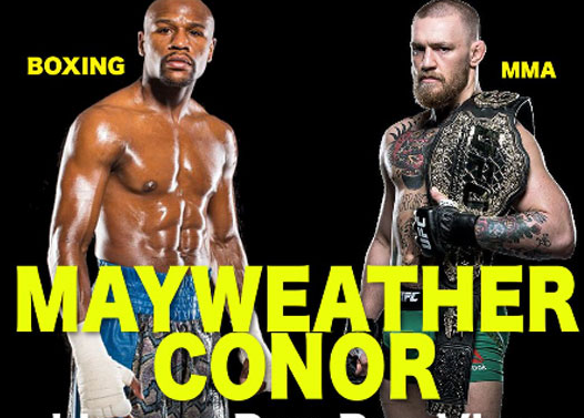 Image result for Mayweather Mcgregor Live