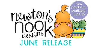 Newton's Nook Designs June 2018 release  #newtonsnook #sneakpeek