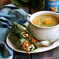 Soup-and-Salad-Wraps-Dinner