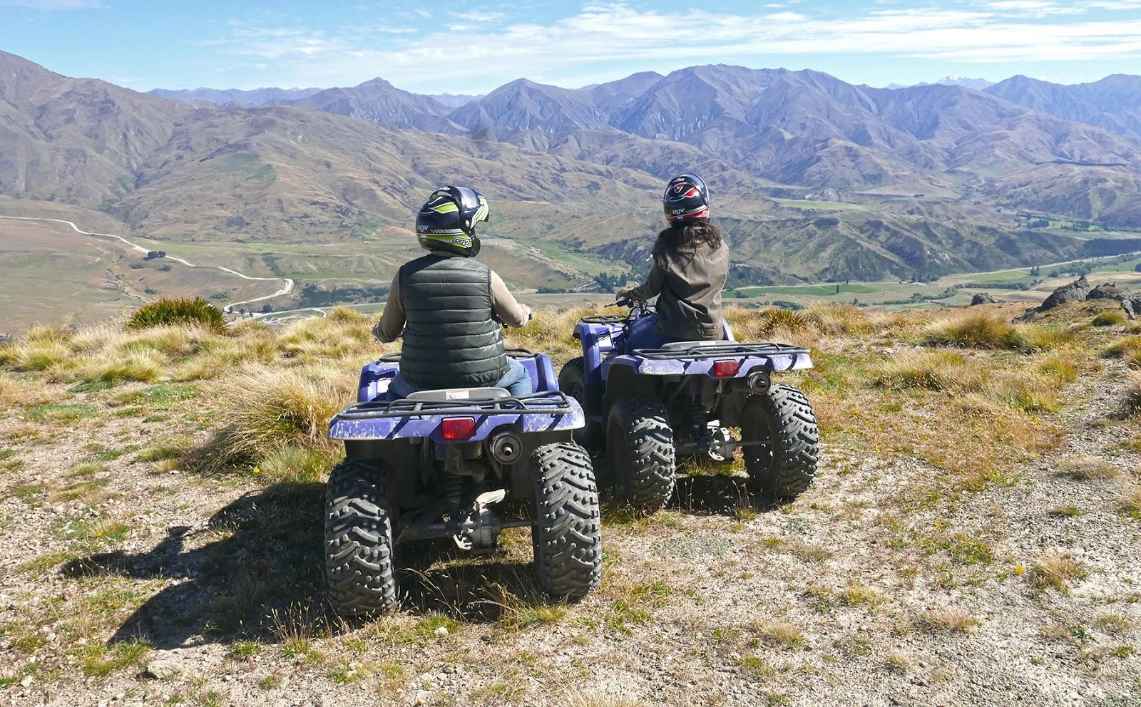 Euriental | luxury travel & style | Cardrona quad bikes, New Zealand