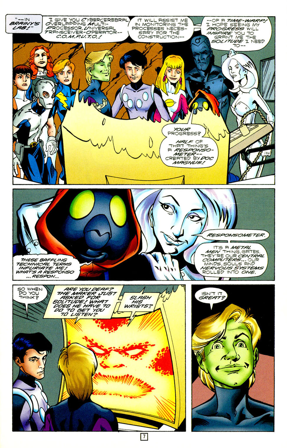 Legion of Super-Heroes (1989) 98 Page 7