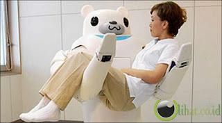 Robot Menggendong Pasien di Rumah Sakit