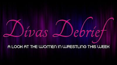 logo for Divas Debrief Women Wrestlers weekly rundown