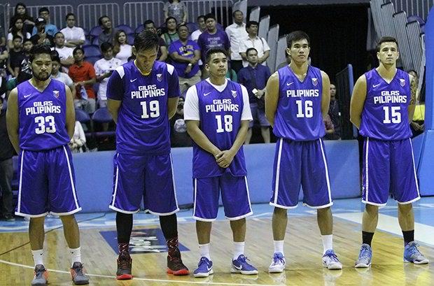 List of Gilas Pilipinas 4.0 14-man lineup 2016