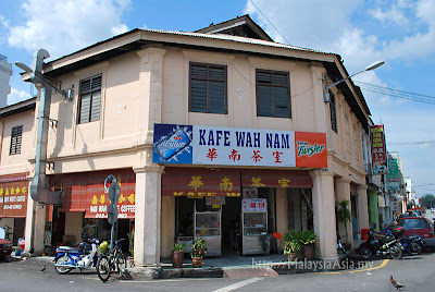 Wah Nam Cafe in Ipoh Malaysia