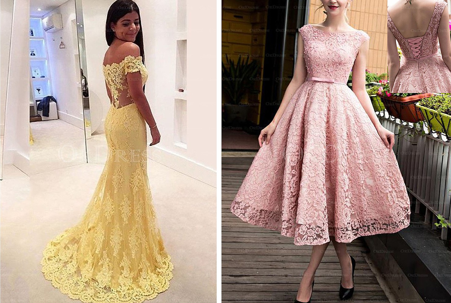 Sand Under My Feet: Prom Dresses in Pantone\'s Top 10 Colors of 2017