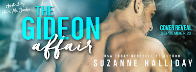 Cover Reveal for The Gideon Affair by Suzanne Halliday with Giveaway !!