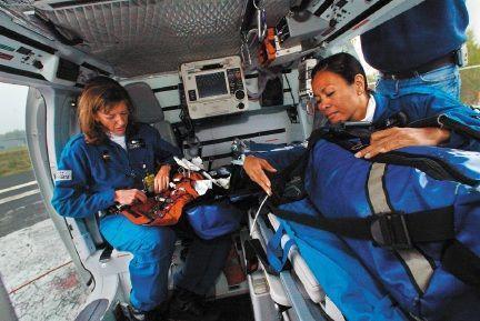 Flight nurses