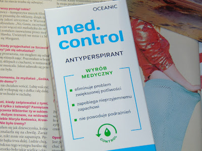 'New' Ocenic Pharmaceutic - med.control antyperspirant