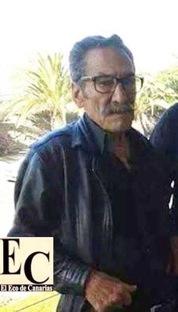 Hombre desaparecido en Almatriche, Las Palmas Gran Canaria Agustín Hernández, Paino
