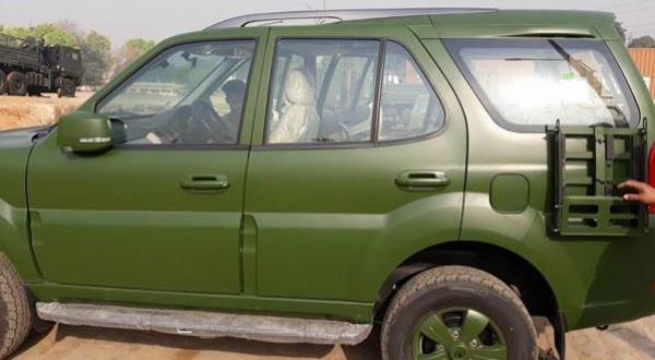 Tata Safari Storme 4x4 Militer India