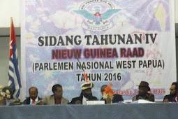 Seruan Umum Parlemen Nasional Papua Barat (PNWP)
