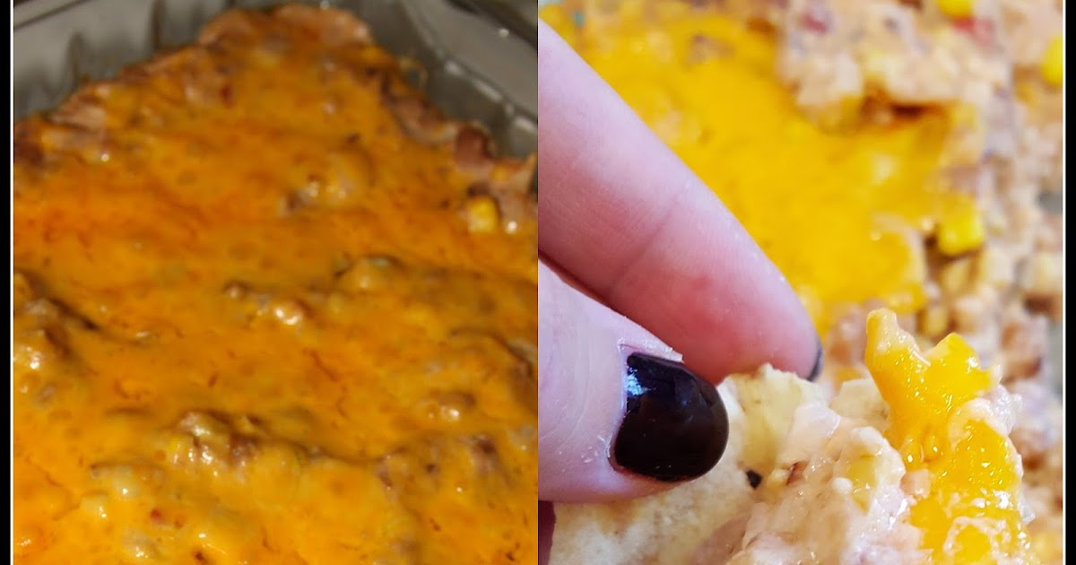 For the Love of Food: Baked Cheesy Black Eyed Pea Dip