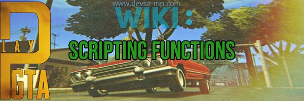 [Scripting Functions] - SetPlayerColor