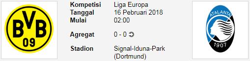 Lihat pertandingan Borussia Dortmund Vs Atalanta dalam duel Europa League PREDIKSI BOLA EUROPA LEAGUE Borussia Dortmund Vs Atalanta