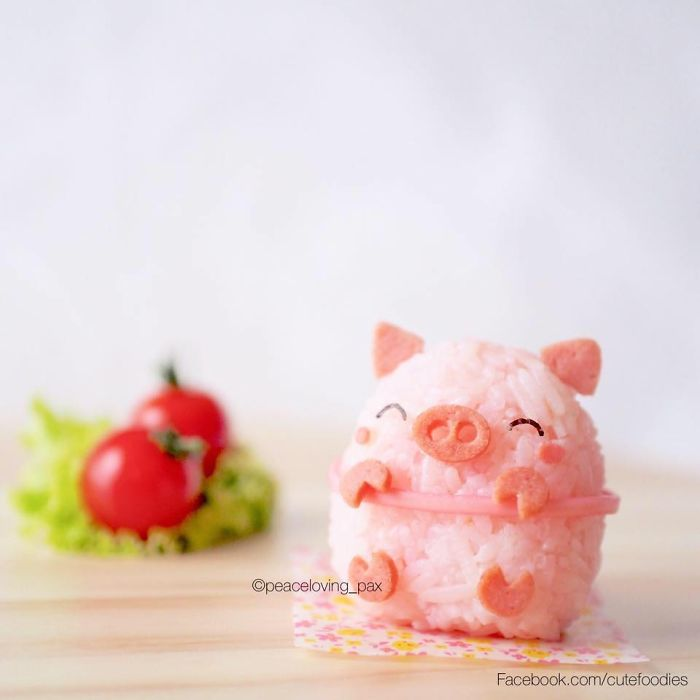 16-Pink-Piggy-Nawaporn-Pax-Piewpun-aka-Peaceloving-Pax-Food-Art-Inspiration-for-your-Bento-Box