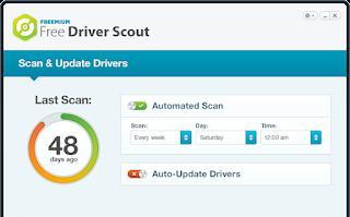 برنامج تحديث تعريفات الكمبيوتر Free Driver Scout