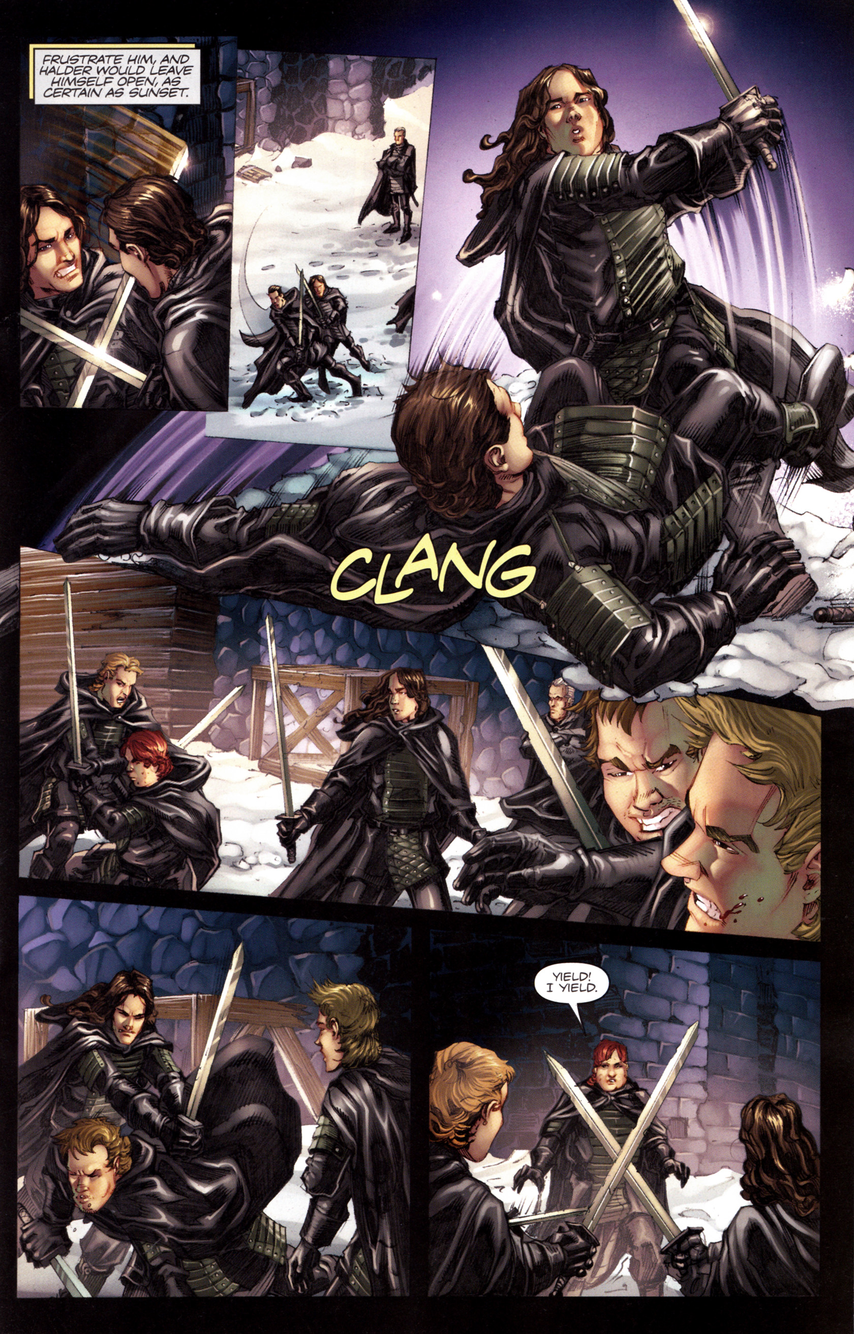 Read online A Game Of Thrones comic -  Issue #8 - 15