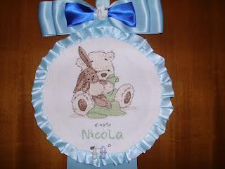 Benvenuto tra noi, Nicola!