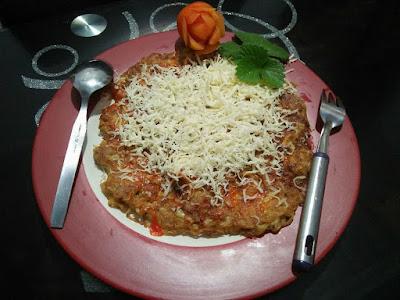 Pizza Mie Tabur Keju
