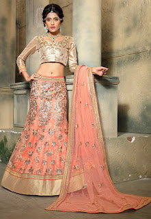 Perfect-Indian-mermaid-or-fish-cut-lehenga-designs-choli-fashion-5