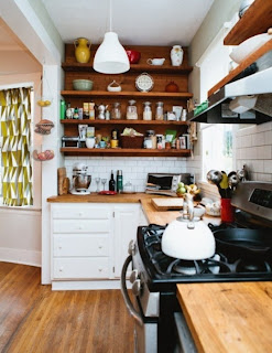 decoración pequeña cocina