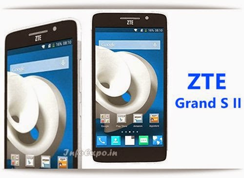 ZTEGrand S2 : 5.5 inch, 2.2GHz Quad core Android Phone Specs, Price