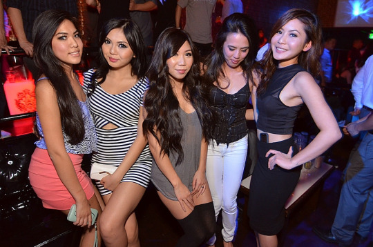 in Asian club girls
