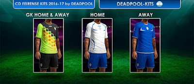 PES 2013 International Club Kitpack 2016-17 by DEADPOOL