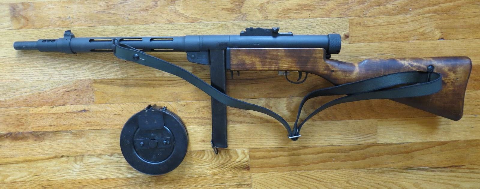 Armed But Not Dangerous Heavy Metal The Suomi Kp31
