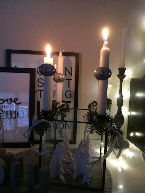 adventti kynttilä