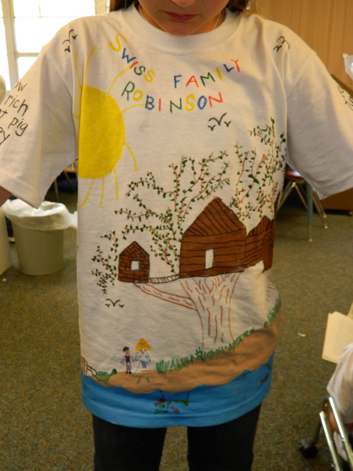 Polka Dotty Place T Shirt Book Report