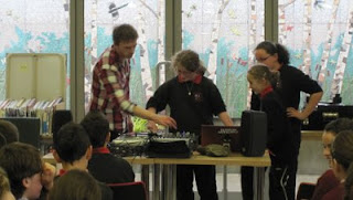 Urban music workshop at Scariff Library
