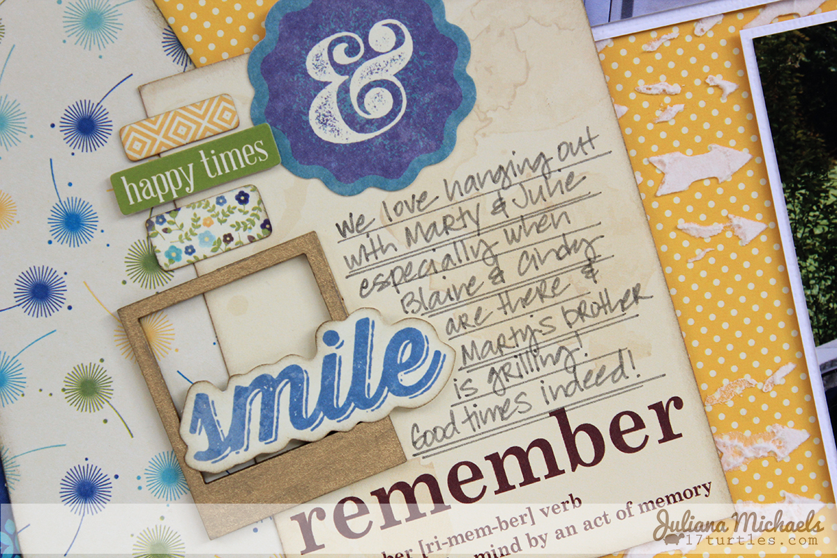Life Is Better 2 page layout by Juliana Michaels using Jillibean Soup Cold Avocado Soup