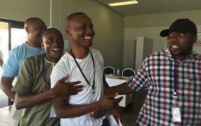 The Nigerian Scrabble team congratulates Wellington Jighere in Perth