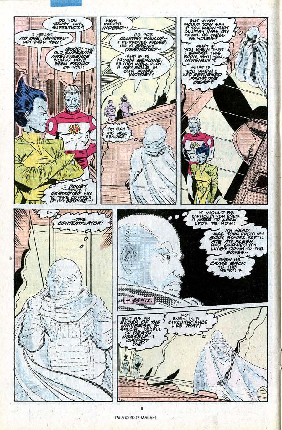 Read online Silver Surfer (1987) comic -  Issue #27 - 10