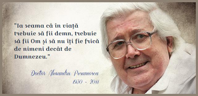 Amintirea unui înger printre oameni: 85 de ani de la nașterea dr. Alexandru Pesamosca