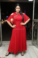 Poorna in Maroon Dress at Rakshasi movie Press meet Cute Pics ~  Exclusive 43.JPG
